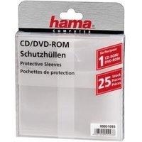 Hama Cd-dvd Rom Hoezen Transp. 25st. Hama