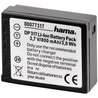 Hama 00077317 Rechargeable Li-Ion Battery DP 317 f- Panasonic
