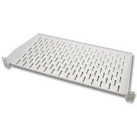 Shelf 1U RAL7035 max.load. 5kg, d 250mm Techtube Pro