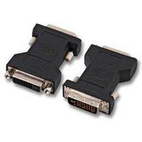 DVI-I 24+5 Adapter Male-Female Techtube Pro