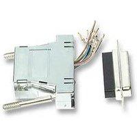 Mod. adapter to Dsub25-RJ45 , metallised housing Techtube Pro