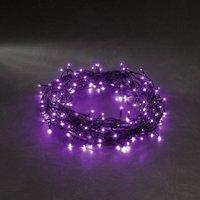 energie A+, Micro LED-lichtketting 40 paarse dioden voor buitengebruik, Konstsmide