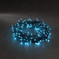 energie A+, Micro LED-lichtketting 40 lichtblauwe dioden voor buitengebruik, Konstsmide