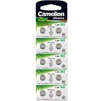 Battery Camelion Alkaline AG3 0% Mercury-Hg (10 pcs.) Camelion