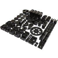 3D-Printer Zwarte plastic onderdelen Geschikt voor: Velleman K8200