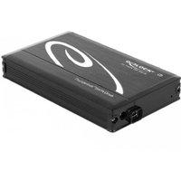 DeLOCK Behuizing 2,5 Delock Thunderbolt voor 6,3cm SATA HDDs zwart (42490)