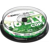 Emtec DVD-RW, 4.7GB, 1-4x, 10pcs. (ECOVRW47104CB)