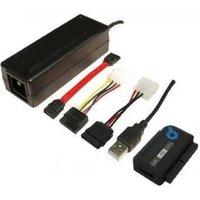 LogiLink USB 2.0 Aansluitkabel [1x USB 2.0 stekker A 1x SATA-stekker 7-polig, IDE bus 40-polig, IDE