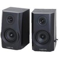 LogiLink Aktivbox LogiLink 2.0 System 2x 2,5W zwart Hi-Fi (SP0028)