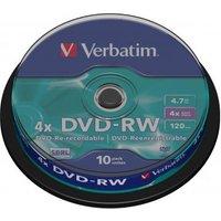 VERBATIM Lege DVD CONSUMABLES Blu-Ray-HD-DVD Lege DVD Lege DVD