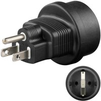 Microconnect Universal adapter US-Schuko (PETRAVEL3)