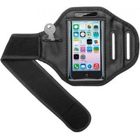 Sportbag for iPhone 5, 5C, 5S jogging and fitness armband with hook-an