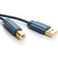 USB 2.0 A B Kabel Professioneel 3 meter
