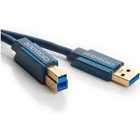 USB 3.0 A naar USB B Kabel Professioneel 0.5 meter