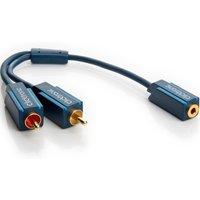 Tulp Jack kabel Professioneel 0.10 meter