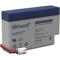 Lead acid battery (Ultracell) 12 V 0,8 Ah (JST-Plug) Goobay