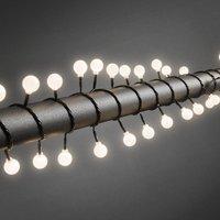 Globe LED lichtsnoer met 80 warm witte bolletjes
