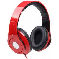 Gembird Koptelefoon Gembird STEREO DETROIT einklappbar Rot (MHS-DTW-R)