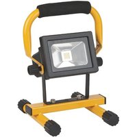 Brennenstuhl Bn-1260101 Mobiele Cob Led-lamp met Batterijvoeding 10 W Ip54
