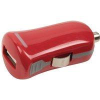 USB-autolader USB A female 12V-aansluiting rood