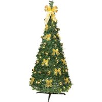 Opvouwbare LED-kerstboom Pull Up Tree