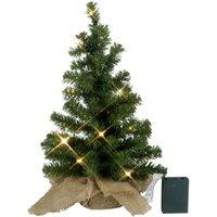 LED-dennenboom Tree in jute zak