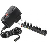 3-7 V Universal Power Supply including 8 DC Adapter max. 17,5 W and