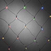 Voor buiten LED-lichtnet 40-lichts, multicolor