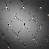 Voor buiten LED-lichtnet met timer 40-lichts ww