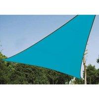 Driehoekig zonnezeil Blauw Quality4All
