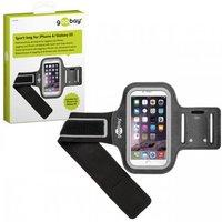 Goobay Sportbag voor Apple iPhone 6, Samsung Galaxy S5 Zwart