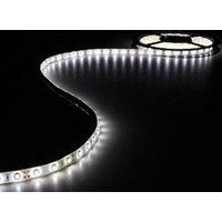 KIT MET FLEXIBELE LED-STRIP EN VOEDING KOUDWIT 300 LEDS 5 m 12Vdc ZONDER COATING
