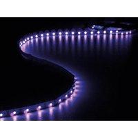 KIT MET FLEXIBELE LED-STRIP EN VOEDING ULTRAVIOLET 300 LEDS 5 m 12Vdc ZONDER COATING