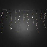 200-lamps IJsregen LED-lichtgordijn buiten