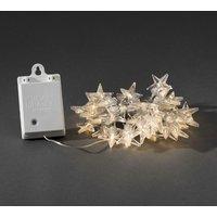 Buiten-lichtketting Sterren met LED's, 40-lamps