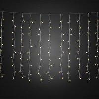 Micro-lichtgordijn buiten 200-lamps