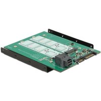Delock 3.5? Konverter SATA 22 Pin-SFF-8643 NVMe > 1 x M.2 NGFF Key M