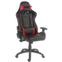 LC-Power Gaming Chair LC-Power LC-GC-1 zwart-rot (LC-GC-1)