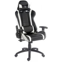 LC-Power Gaming Chair LC-Power LC-GC-2 zwart-wit (LC-GC-2)