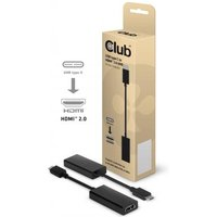 CLUB3D C3D USB TYPE C > HDMI2.0 Act 3D (CAC-1504)
