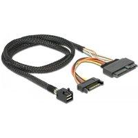 SFF-8643 naar U.2 SFF-8639 en SATA kabel Delock