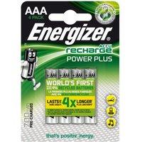 Energizer AAA oplaadbare batterij (potlood) NiMH 700 mAh 1.2 V 4 stuks