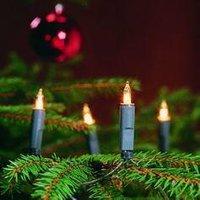 Kerstmis lichtslinger 20 lampjes warmwit binnen