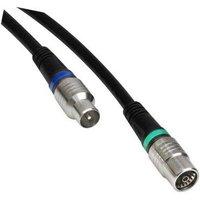 Technetix Coaxkabel CATV 3 mtr. Zwart 4G-LTE-Proof Ziggo geschikt Te