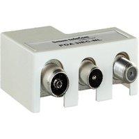 Braun telecom Radio-TV-Modem verdeler POA 3 IEC-NL Braun telecom