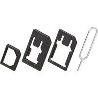 SIM-card adaptor (3in1) nano-SIM, Micro-SIM, SIM-Format Quality4All