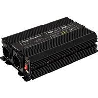 Goobay SPW IT Omvormer 1500 W 12 V-DC 230 V-AC, 5 V-DC