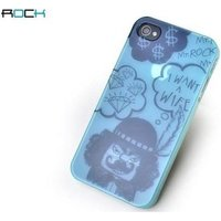 Rock Cover Mr. Rock Light Blue Apple iPhone 4-4S