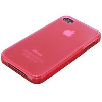 Mobilize Gelly Case Pink Transparant Apple iPhone 4-4S