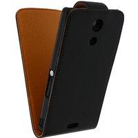 Leather Flip Case Sony Xperia ZR
